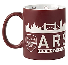 Arsenal London Skyline Mug