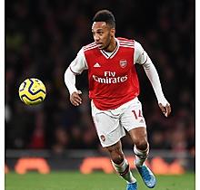 Arsenal Match Worn Shirt V Crystal Palace - AUBAMEYANG