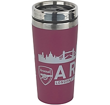 Arsenal London Skyline Travel Mug