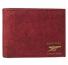 Arsenal Bifold Cork Wallet