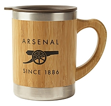 Arsenal Bamboo Thermos Mug