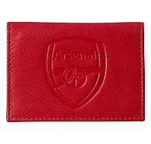 Arsenal Red Leather Season Pass Holder
