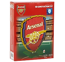 Arsenal Crest Brxlz Construction Toy