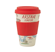 Arsenal London Bamboo Travel Mug