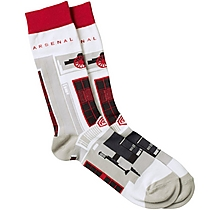 Arsenal Highbury Illustration Socks