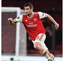 Arsenal Match Worn Shirt V Frankfurt - SOKRATIS
