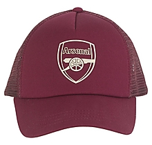 Arsenal Essentials Dark Red Crest Cap