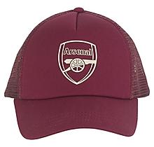Arsenal Essentials Dark Red Crest Cap