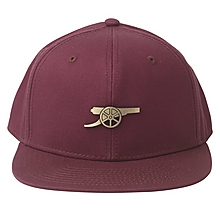 Arsenal Dark Red Metal Badge Snapback