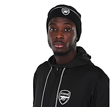Arsenal Essentials Black Beanie