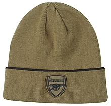 Arsenal Essentials Khaki Beanie