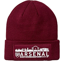 Arsenal London Skyline Beanie