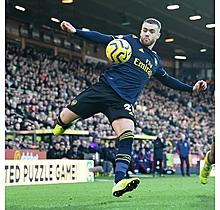 Arsenal Match Worn Shirt V Norwich City - CHAMBERS