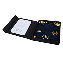 Arsenal Match Worn Shirt V Norwich City - MUSTAFI