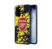 Arsenal Samsung S20 Splash Print UV Case
