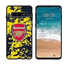 Arsenal Samsung S10 Splash Print UV Case