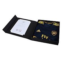 Arsenal Match Worn Shirt V Standard Liege - MAVROPANOS