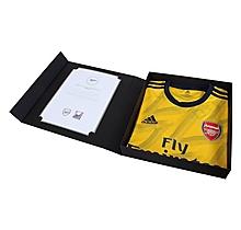 Arsenal Match Worn Shirt V Everton - AUBAMEYANG