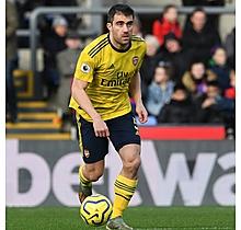Arsenal Match Worn Shirt V Crystal Palace - SOKRATIS