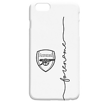Arsenal Personalised Script Phone Case