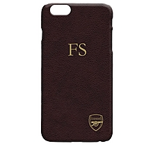 Arsenal Personalised Textured Print Phone Case