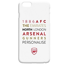 Arsenal Personalised Collage Phone Case