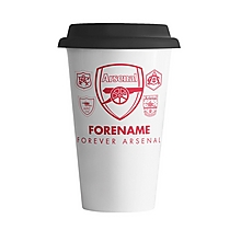 Arsenal Forever Arsenal Personalised Coffee Cup
