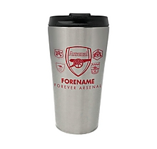 Arsenal Forever Arsenal Personalised Travel Mug