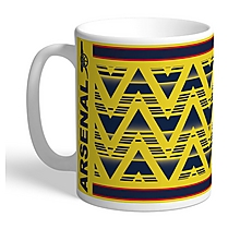 Arsenal Bruised Banana Personalised Mug