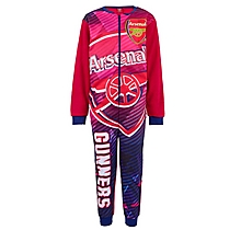 Arsenal Kids Print Fleece Onesie