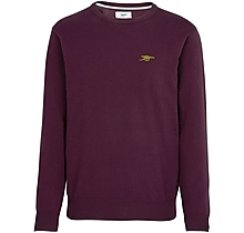 Arsenal Since 1886 Wine Cotton Jumper