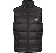 Arsenal Since 1886 Black Padded Gilet