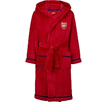 Arsenal Kids Fleece Red Dressing Gown