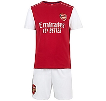 Arsenal Adult Kit Shorts Pyjama Set