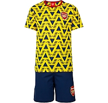 Arsenal Kids Bruised Banana Shorts Pyjama Set