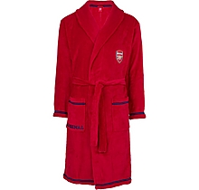 Arsenal Adult Fleece Red Robe
