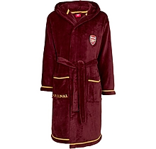 Arsenal Adult Fleece Redcurrant Robe