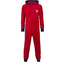 Arsenal Fleece All-In-One Red Pyjama