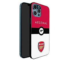 Arsenal iPhone 12 Pro Crest Print UV Case