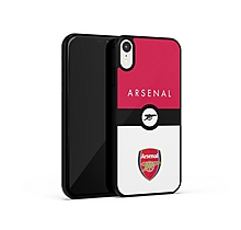 Arsenal iPhone X Crest and Cannon Print UV Case