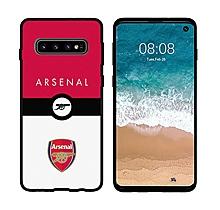 Arsenal Samsung S10 Crest Print UV Case