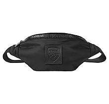Arsenal Essentials Black Bum Bag
