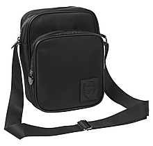 Arsenal Essentials Black Crossbody Bag