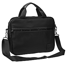 Arsenal Essentials Black Laptop Bag