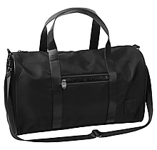 Arsenal Essentials Black Holdall Bag