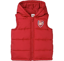 Arsenal Baby Padded Gilet