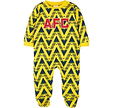 Arsenal Baby Bruised Banana Sleepsuit
