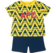 Arsenal Baby Bruised Banana Set