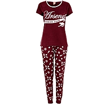 Arsenal Womens Cannon Cotton Pyjamas