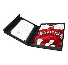 20/21 Aubameyang Signed Boxed Shirt
